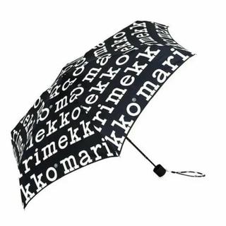 マリメッコ(marimekko)のマリメッコ  折り畳み傘  マリメッコ ロゴ  傘(傘)