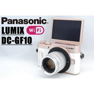 Panasonic - GF最新モデル♪ Wi-Fi搭載♪ ルミックス LUMIX GF10