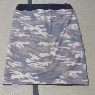 ローリーズファーム(LOWRYS FARM)の迷彩柄 スカート(ひざ丈スカート)