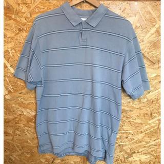 コロンビア(Columbia)のcolumbia ポロシャツ コロンビア ボーダー柄(ポロシャツ)