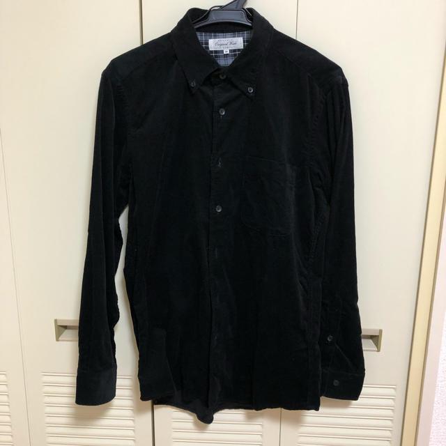 UNIQLO(ユニクロ)の黒シャツ 秋冬物 ユニクロ メンズのトップス(シャツ)の商品写真