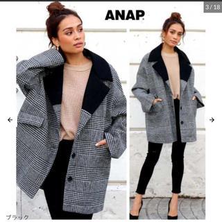 ANAP - 新品♡ ANAP グレンチェックテーラードコート