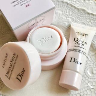 Dior - 【お試し✦4,464円分】ドリームスキンアドバンスト クッション 000 色変可