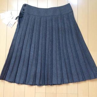 しまむら - 新品 しまむら プリーツ スカート ひざ丈