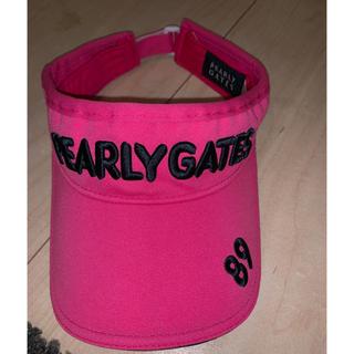 パーリーゲイツ(PEARLY GATES)のジェニー様専用 パーリーゲイツ サンバイザー☺︎ニーハイソックス(その他)