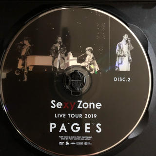 Sexy Zone - Sexy Zone LIVE TOUR 2019 PAGES  ドキュメンタリー