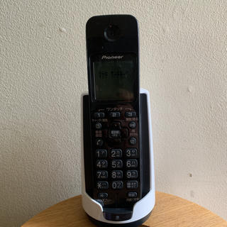 パイオニア(Pioneer)のPioneer コードレス電話機 TF-FD15S(その他)