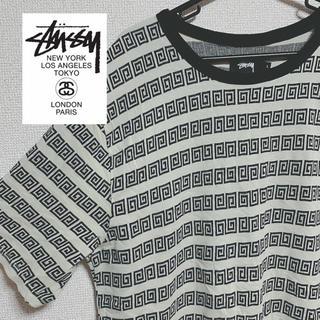 STUSSY - STUSSY 柄Tシャツ