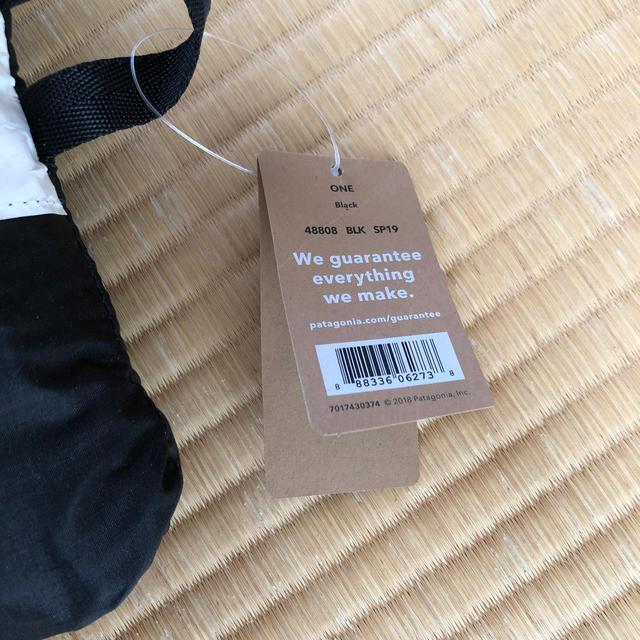 patagonia(パタゴニア)のpatagonia ライトウェイト トラベルトート 新品未使用! レディースのバッグ(リュック/バックパック)の商品写真