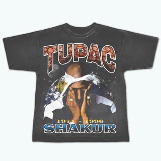 FEAR OF GOD - 2PAC vintage Tシャツ