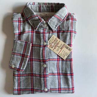 MUJI (無印良品) - 価格2990円 無印良品 オーガニックコットン 二重ガーゼシャツ。