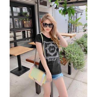 レディー(Rady)のrady ホテルシリーズTシャツ BLACK(Tシャツ(半袖/袖なし))