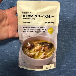 ムジルシリョウヒン(MUJI (無印良品))の無印 〈辛くない〉グリーンカレー(レトルト食品)