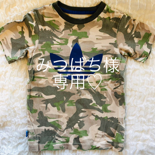 adidas - adidas 迷彩柄Tシャツ 100cm♡
