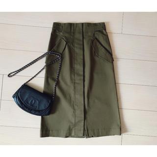 ユナイテッドアローズ(UNITED ARROWS)のユナイテッドアローズ17A/Wサイドベルトタイトスカート15,120円(ロングスカート)