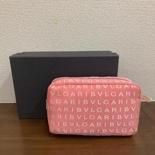 BVLGARI - ブルガリ  BVLGARI  ロゴマニア 新品未使用 化粧ポーチ
