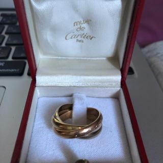 Cartier - カルティエ トリニティリング k18 58