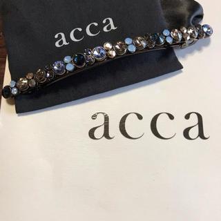 acca - acca♡限定ベリーバレッタ ネイビー