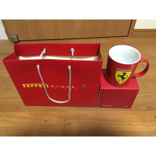 未使用品 フェラーリ マグカップ