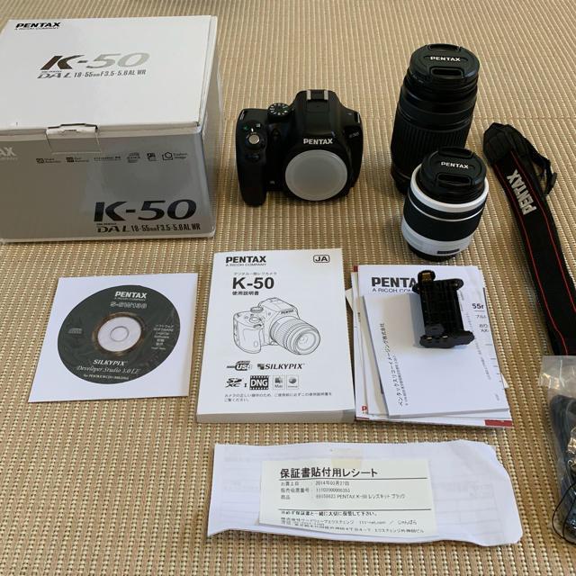 PENTAX(ペンタックス)のペンタックス 一眼レフカメラ k50 スマホ/家電/カメラのカメラ(デジタル一眼)の商品写真