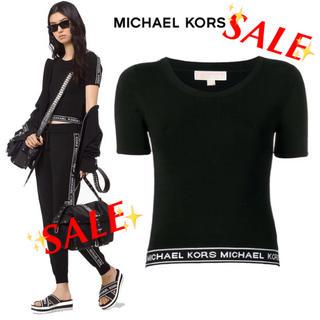 マイケルコース(Michael Kors)の新品格安セール♪♪マイケルコース ロゴ入り トップス(Tシャツ(半袖/袖なし))