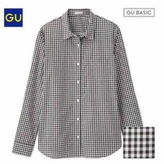 GU -  ジーユー GU ギンガムチェックシャツ