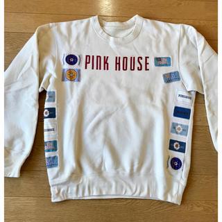 ピンクハウス(PINK HOUSE)のk.さん専用❗️ピンクハウス 白トレーナー(トレーナー/スウェット)