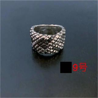 希少 SAD 新品 パイソンリング S.A.D 清春 シルバー925(リング(指輪))