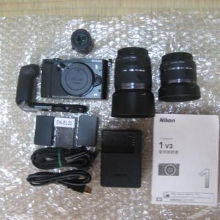 Nikon - NIKON 1 V3 レンズ2本  セット