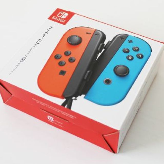 Nintendo Switch(ニンテンドースイッチ)の【新品】Switch Joy-Con (L)(R) ジョイコン エンタメ/ホビーのゲームソフト/ゲーム機本体(家庭用ゲーム機本体)の商品写真