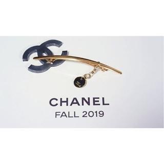 CHANEL - 70 シャネルロゴ/バレッタ