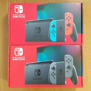 Nintendo Switch - Nintendo Switch 新モデル2台セット