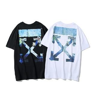 OFF-WHITE - OFF WHITE 2枚5750円送料込み Tシャツ 半袖