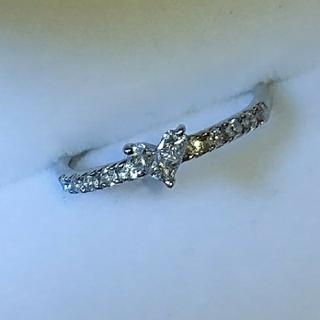 スタージュエリー(STAR JEWELRY)のスタージュエリー ミステリアスハート ダイヤ リング ダイヤモンド (リング(指輪))