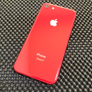 iPhone - iphone8 product RED 64GB SIMフリー 美品