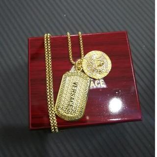 ヴェルサーチ(VERSACE)のVERSACE ヴェルサーチ ネックレス ゴールド 男女通用(ネックレス)