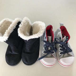ヴァンズ(VANS)の靴セット 17センチ(スニーカー)