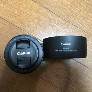 Canon - CANON ef50mm f1.8 stm (es-68レンズフード付き)