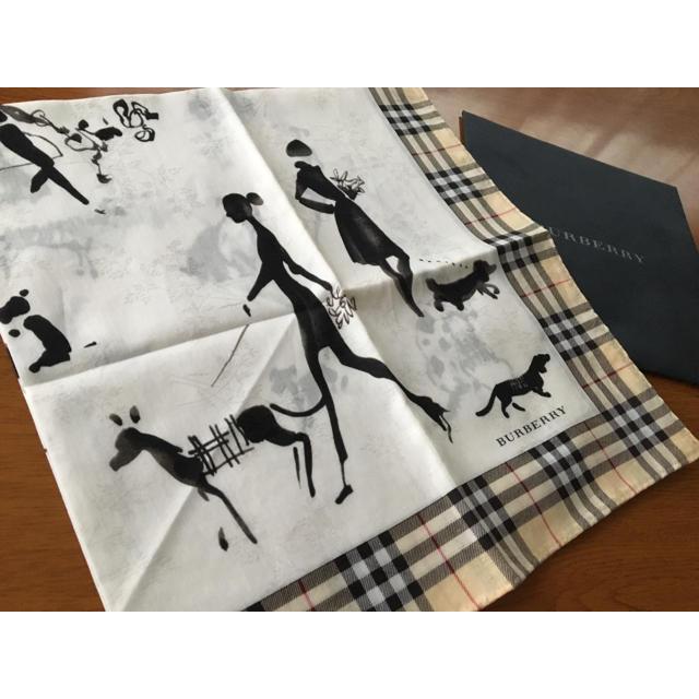 BURBERRY(バーバリー)のバーバリー 大判 ハンカチーフ  スカーフ レディースのファッション小物(ハンカチ)の商品写真