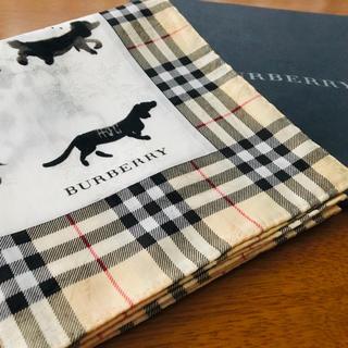 BURBERRY - バーバリー 大判 ハンカチーフ  スカーフ