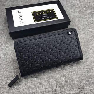 Gucci - グッチ 長財布 ブラック