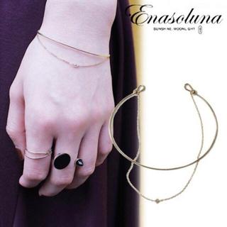 エナソルーナ(Enasoluna)の即完売  enasoluna   エナソルーナダイヤブレスレット(ブレスレット/バングル)