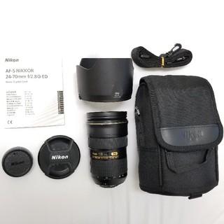 """Nikon - 【憧れの""""大三元""""】 AF-S NIKKOR 24-70mm f/2.8G ED"""