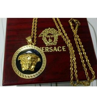 ヴェルサーチ(VERSACE)の美品!メンズ Versace ヴェルサーチ アクセサリー ネックレス (ネックレス)