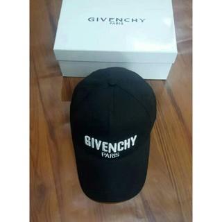 ジバンシィ(GIVENCHY)のGIVENCHY ジバンシィ キャップ 男女通用 美品 ブラック(キャップ)