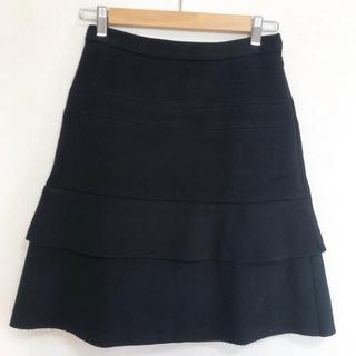 ドゥロワー(Drawer)の美品 drawer  ドゥロワー ウール スカート(ひざ丈スカート)
