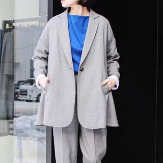ENFOLD - 18SS新品◇enfold エンフォルド ストレッチウールラインジャケット