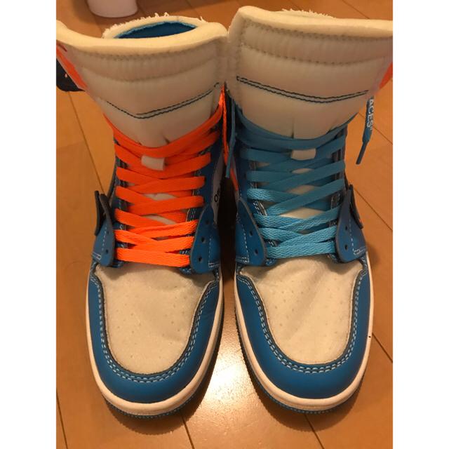 NIKE(ナイキ)のNike Air Jordan 1 UNC off white 27cm メンズの靴/シューズ(スニーカー)の商品写真