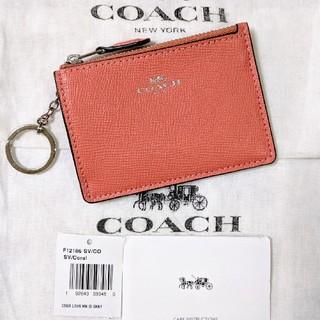 COACH - COACH コーチ コイン パスケース キーリング付 F12186