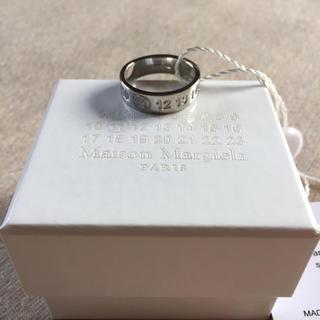 マルタンマルジェラ(Maison Martin Margiela)の値下19SS新品M マルジェラ ナンバリング ロゴ リング (リング(指輪))